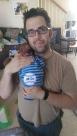 Dan holding baby Aiden