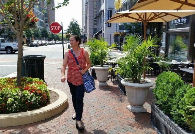 Walking with Sarah Wells Bag